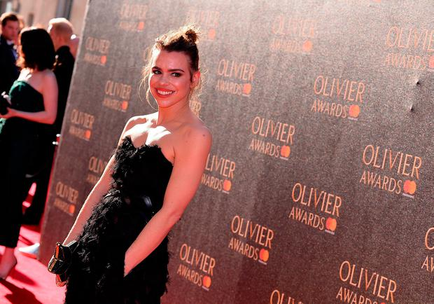 Billie Piper attends The Olivier Awards 2017 at Royal Albert Hall on April 9, 2017 in London, England. (Photo by Jeff Spicer/Getty Images)
