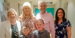 Jack impressed This Morning hosts Phillip Schofield and Holly Willoughby by swimming with sharks in London on their show last week.