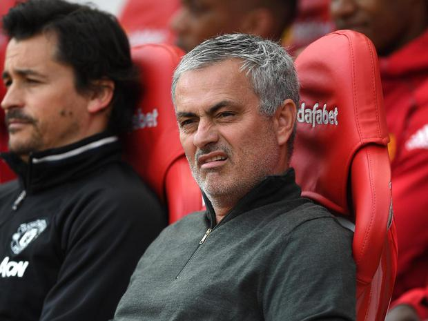 Mourinho needed Carrick to explain why United fans were singing about Forlan. Getty