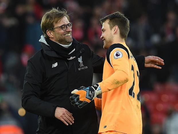 Simon Mignolet says there is no rift with Jurgen Klopp