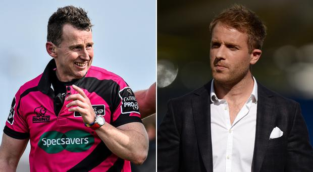 Luke Fitzgerald wants Nigel Owens to focus on refereeing