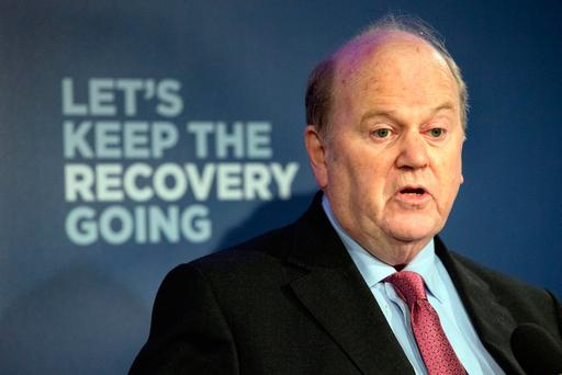 Finance Minister Michael Noonan Photo: Tony Gavin