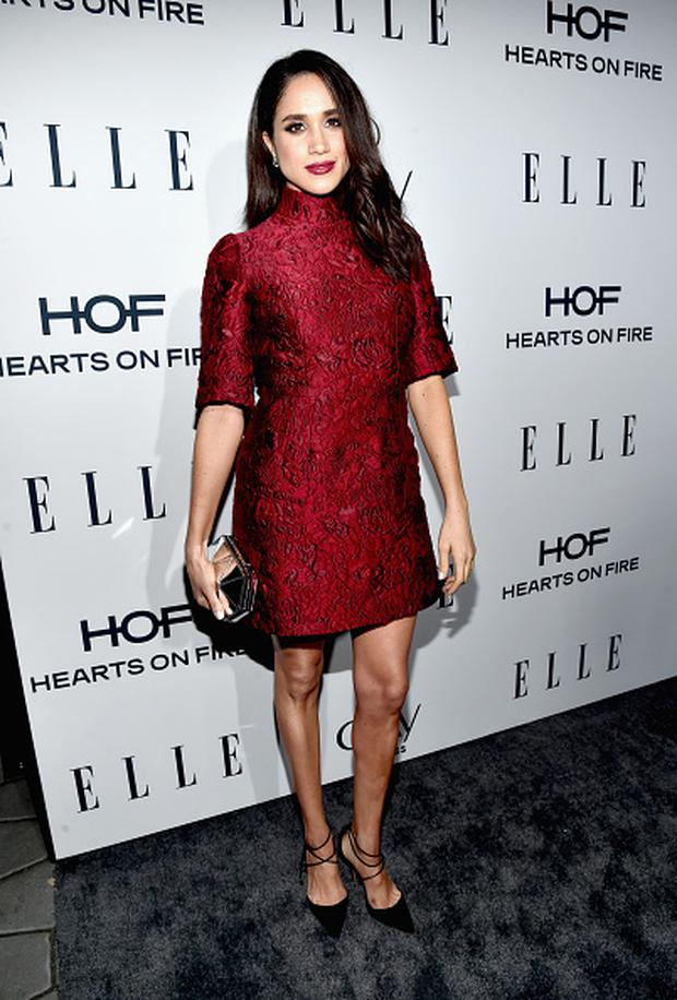 Actress Meghan Markle attends ELLE's 6th Annual Women In Television Dinner at Sunset Tower Hotel on January 20, 2016 in West Hollywood, California. (Photo by Alberto E. Rodriguez/Getty Images for ELLE)