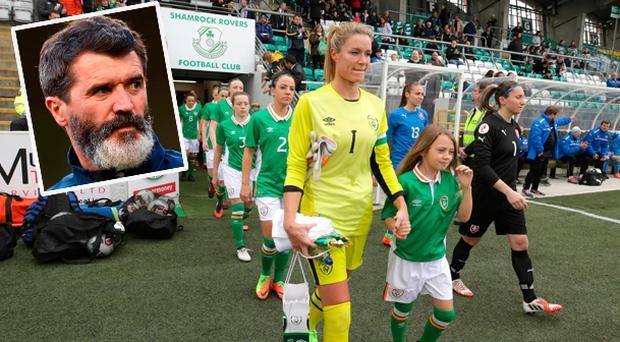 Emma Byrne has revealed she received a phone call from Roy Keane after today's win over Slovakia