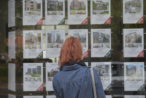 The survey found that more than half of those active in the housing market were first-time buyers. GETTY