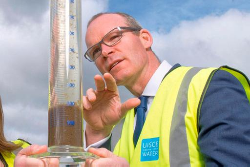 Standing firm: Simon Coveney. Photo: Daragh Mc Sweeney/Provision