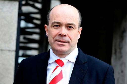 Tensions have been running high between Communications Minister Denis Naughten (pictured) and Rural Affairs Minister Michael Ring for several weeks. Photo: Tom Burke