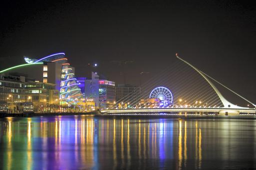Ireland has been pitching for a slice of the UK capital's lucrative euro-denominated trading business