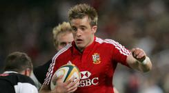 Luke Fitzgerald on the 2009 Lions Tour