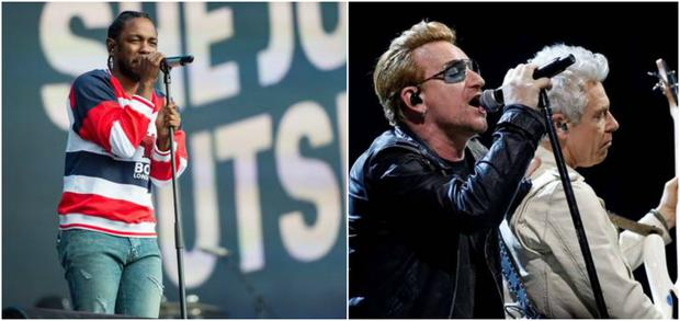 Kendrick Lamar and U2 have collaborated on a new song