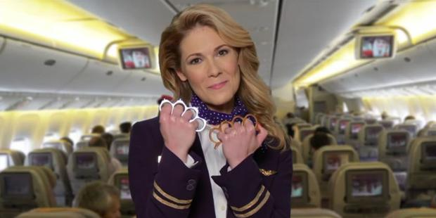 Jimmy Kimmel Live created a spoof United Airlines advertisement