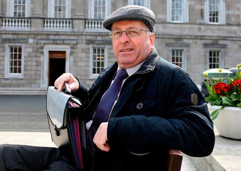 Independent deputy Mattie McGrath has attacked moves to block a 'moment of reflection' in Dáil business. Photo: Tom Burke