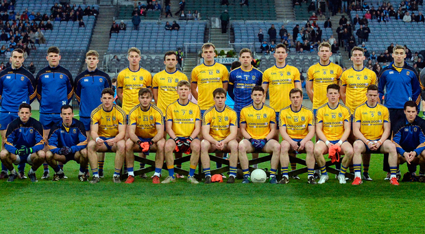 The Roscommon squad who faced Dublin in the league on March 25 – they played Cavan eight days later, but won't have their next competitive outing until June 18, by which stage their Connacht rivals Sligo will have played three games and could be out of the championship. Photo: Sportsfile