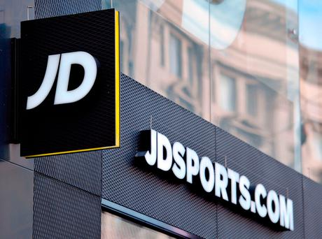 JD Sports sell brands such as Superdry, Nike, The North Face, Adidas and many others through its JD shops. Photo: PA