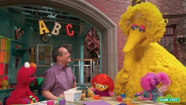 Sesame Street introduced an autistic character named Julia