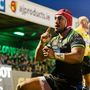 15 October 2016; Bundee Aki of Connacht celebrates after scoring his side's third try of the match during the European Rugby Champions Cup Pool 2 Round 1 match between Connacht and Toulouse at the Sportsground in Galway. Photo by Seb Daly/Sportsfile