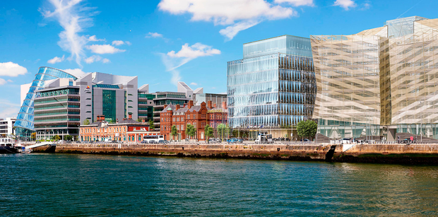 RGE's Spencer Place is one of a number of new office schemes being built in Dublin's Docklands