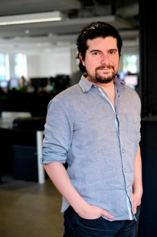 Squarespace founder and CEO Anthony Casalena sees tech giants like Facebook as complementing his company's work in creating off-the-shelf websites for small businesses to sell online. Photo: Adrian Weckler