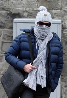 Jonathan Gill leaving the Criminal Courts of Justice yesterday Picture: Paddy Cummins/PCPhoto.ie