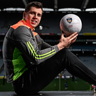 Mayo footballer Lee Keegan is pictured at the launch of the Kellogg's GAA Cúl Camps in Croke Park yesterday. Photo: Sportsfile