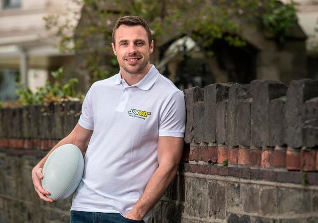 Ulster and Ireland rugby star Tommy Bowe Picture: ©INPHO/Dan Sheridan
