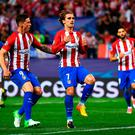 Atletico Madrid's Antoine Griezmann continues to be linked with a move to Manchester United