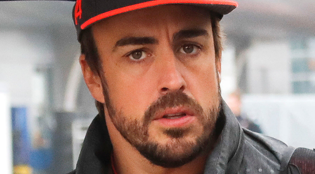 McLaren's Fernando Alonso. Photo: AP