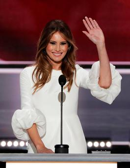 Libel victory: First Lady Melania Trump Picture: Getty