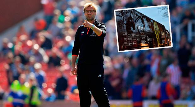 Jurgen Klopp was concerned after Dortmund bus attack