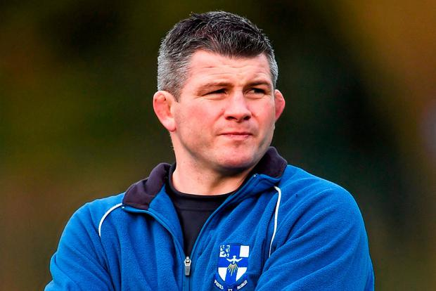 The Leinster academy manager Peter Smyth. Photo: Stephen McCarthy / SPORTSFILE