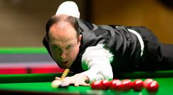Fergal O'Brien had fallen at the last hurdle five times since his last Crucible appearance in 2010. Photo: VCG/VCG via Getty Images