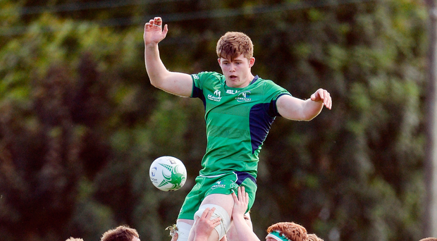 Connacht's Sean Masterson has been selected for Ireland. Photo: Sportsfile