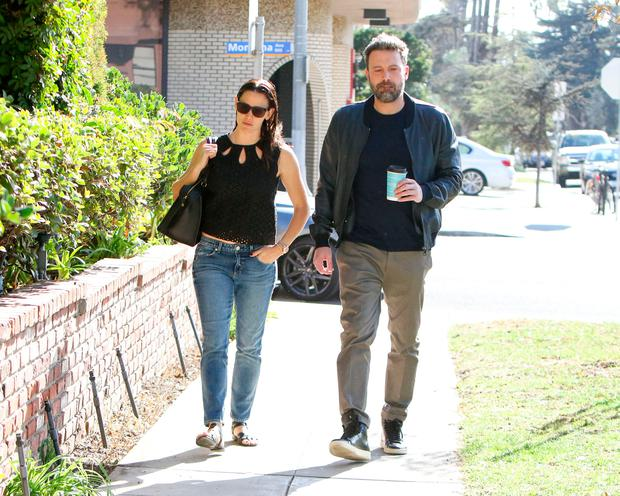 Jennifer Garner and Ben Affleck are seen on November 19, 2016 in Los Angeles, California. (Photo by BG004/Bauer-Griffin/GC Images)