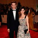 (L-R) Actor Hayden Christensen and actress Rachel Bilson (R) attend the Costume Institute Gala Benefit to celebrate the opening of the
