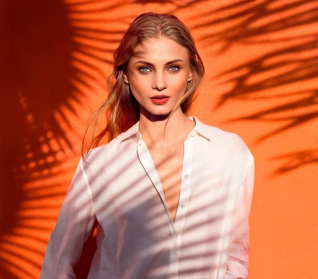 Photo: Clarins Campaign image