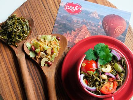 Bayin Nut mix and Pickled tea products