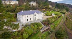 The house at Gorse Hill in Killiney