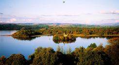 Castle Island, Lough Key Forest Park, Boyle, Co Roscommon