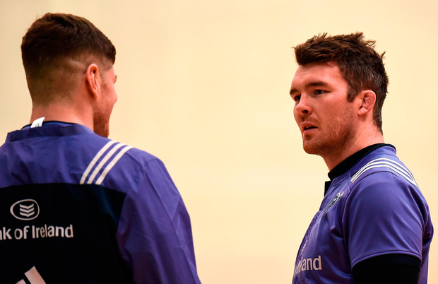 The likes of Peter O'Mahony will be ensuring that standards don't slip at training this week. Photo: Sportsfile