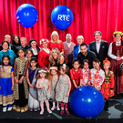 Clockwise from above: Performers from Cloria Choir, Bardzo Ladnie Foundation, Elve Choir, Chinese Irish Academy of Dance with Minister for Arts, Heritage, Regional, Rural and Gaeltacht Affairs, Heather Humphreys T.D., and Miriam O'Callaghan, Joe Duffy, Bláthnaid Ní Chofaigh, Bláthnaid Treacy, Keith Walsh and Sean Rocks