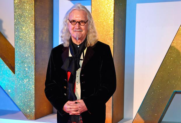 Billy Connolly attends the 21st National Television Awards at The O2 Arena on January 20, 2016 in London, England. (Photo by David M. Benett/Dave Benett/Getty Images)