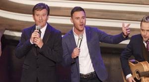Daniel O'Donnell and Nathan Carter on The Late Show country special