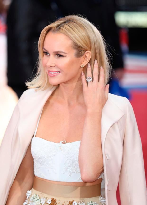 Amanda Holden attends the Britain's Got Talent, London Auditions at The London Paladium on January 29, 2017 in London, United Kingdom. (Photo by Tim P. Whitby/Getty Images)