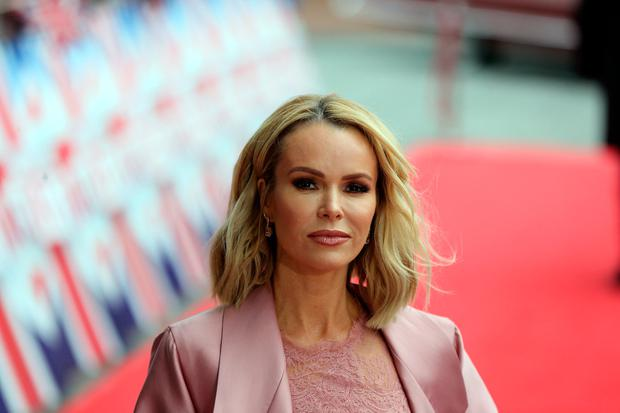 Judge Amanda Holden arrives for the Britain's Got Talent Manchester auditions on February 9, 2017 in Manchester, United Kingdom. (Photo by Nigel Roddis/Getty Images)