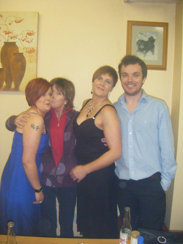 Leanne, Catherine, Donna and Neil