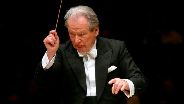 Neville Marriner: director of the Academy of St Martin in the Fields