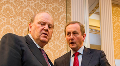 Finance Minister Michael Noonan and Taoiseach Enda Kenny have overseen a partial economic recovery — but there are still dangers to be wary of