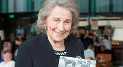LEFT MILLIONS: Author and photographer Jacqueline O'Brien, wife of racing legend Vincent Photo: Anthony Woods