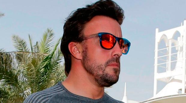 McLaren driver Fernando Alonso Photo: AP Photo/Luca Bruno