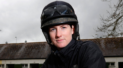 Rachel Blackmore: 'There would be something wrong if I wasn't excited about riding a horse like Abolitionist in a race like that' Photo: Damien Eagers